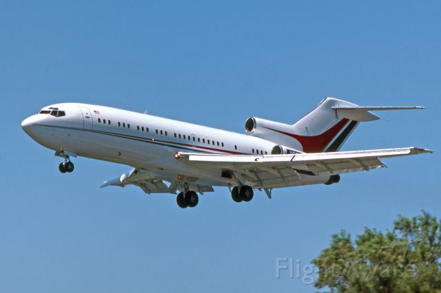 Boeing 727-100 (N529AC) - Adelaide, South Australia, November 16, 1984.  Amway Corporate jet on final for runway 05. Just lucky to be out photographing that day, didn't know this was coming.