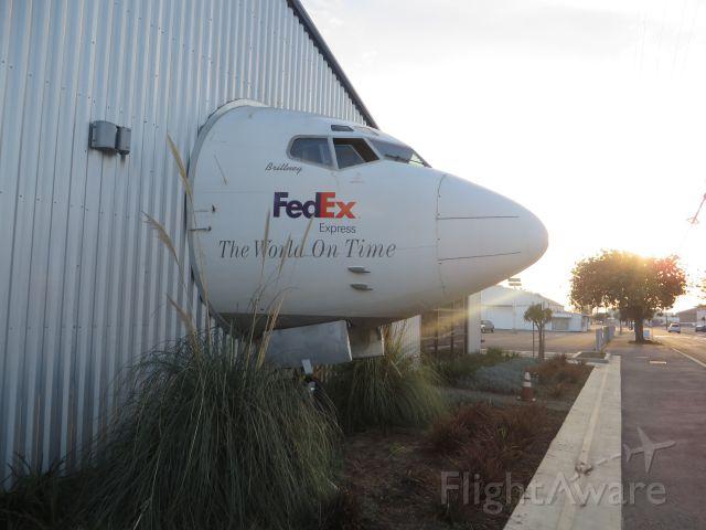 — — - Ex-FedEx 727 at Museum of Flight, Los Angeles