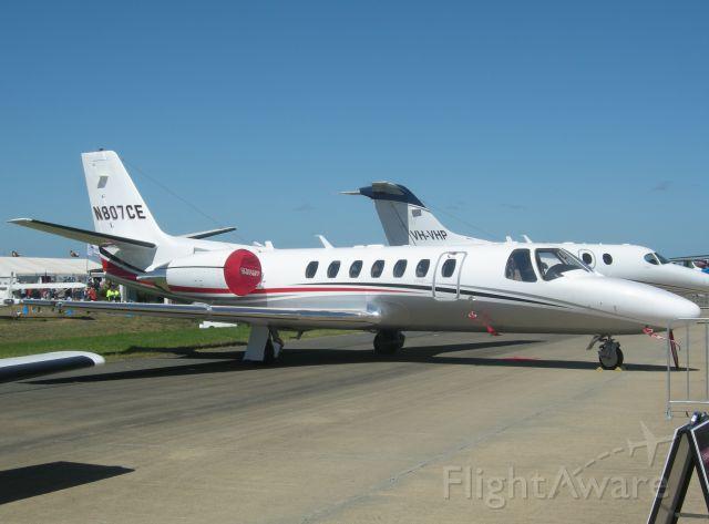 Cessna Citation V (N807CE)