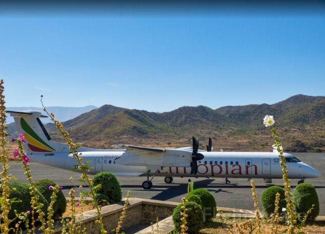 de Havilland Dash 8-400 (ET-ANV) - Last shot I got before I went into the terminal for real