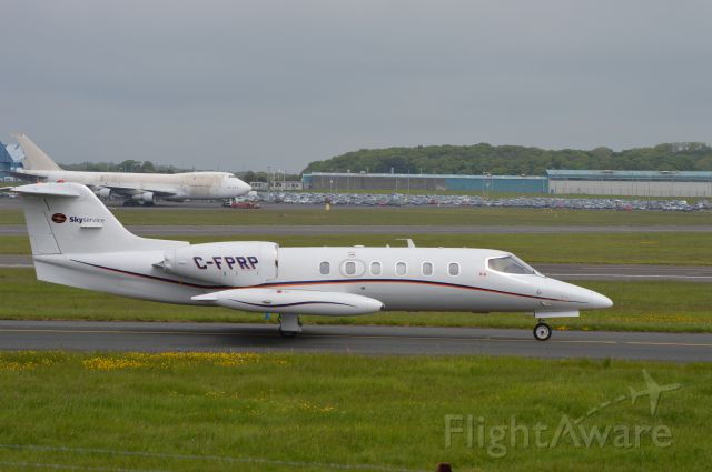 Learjet 35 (C-FPRP) - Stopped off for a fuel top up