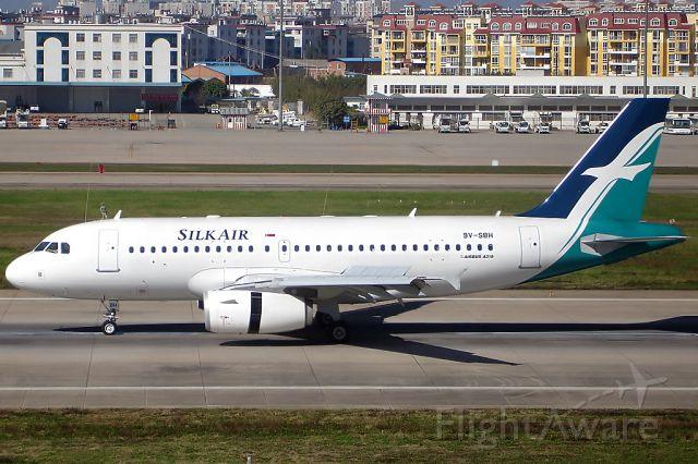 Airbus A319 (9V-SBH)