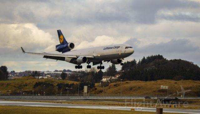 Boeing MD-11 (D-ALCO) - Shot in Sola Airport Stavanger Norway