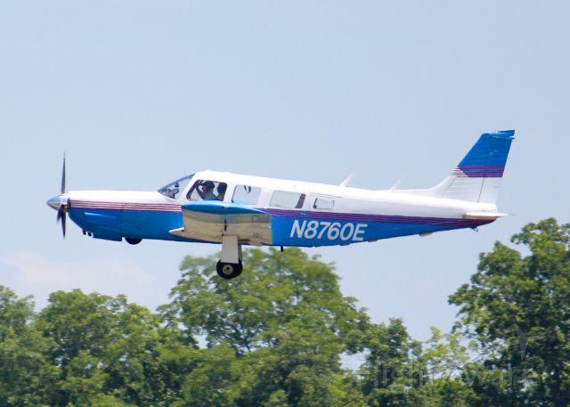 Piper Saratoga (N8760E) - At Downtown Shreveport.