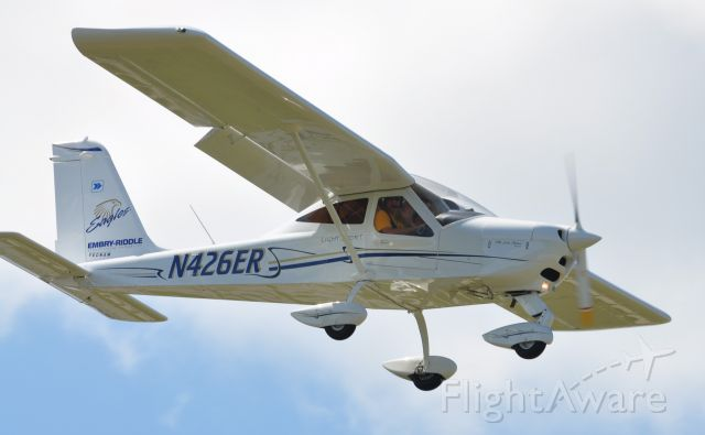 N426ER — - Tecnam P92 ECHO