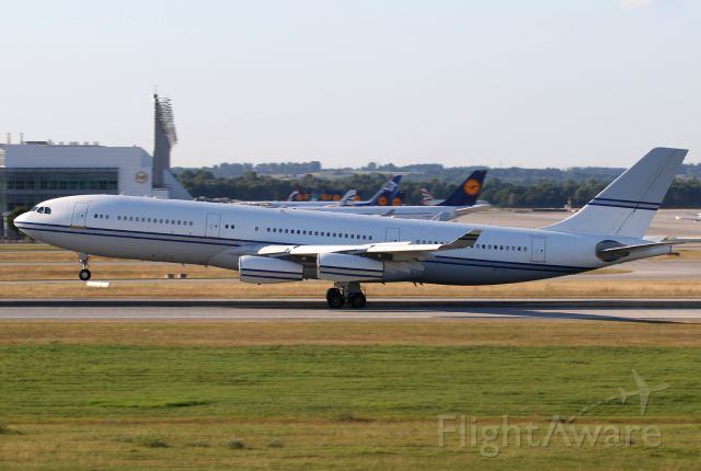 Airbus A340-200 (SHU124) - One of the rare A340-200