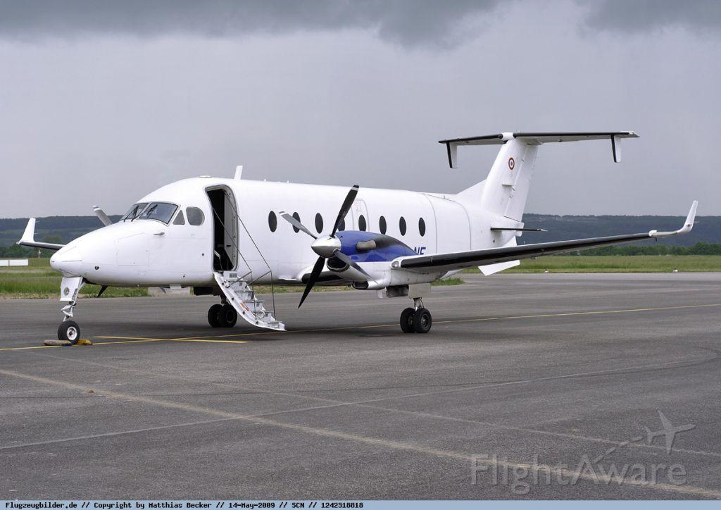 Beechcraft 1900 (F-GLNE) - B1900D flying in 2008/2009/2010 for french Police.