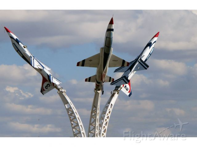 """KOWA — - """"Planes on Poles"""" at KOWA. Very friendly people at the FBO there."""