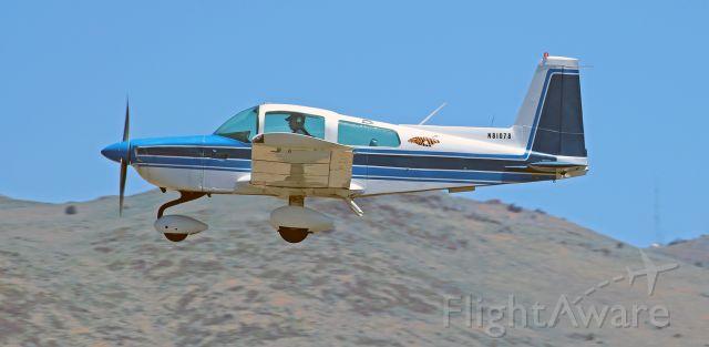 Grumman AA-5 Tiger (N81078) - Just off Runway 27-9.