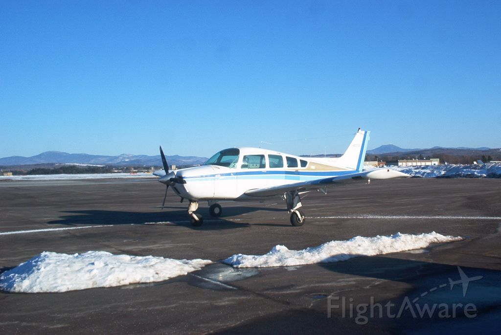 Beechcraft Sierra — - Early spring with Green Mountains in background.