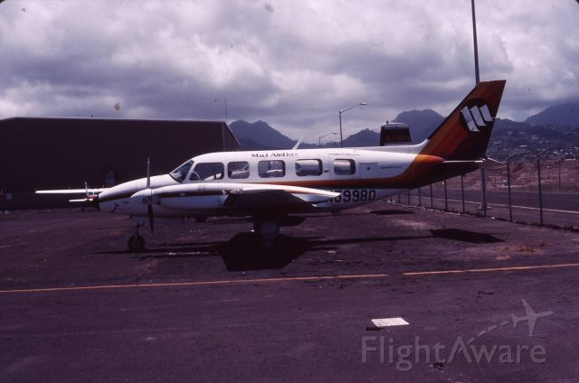 Piper Navajo (N59980) - Maui Airlines