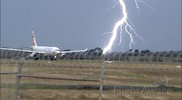 Airbus A330-200 — - Sorry about the poor quality - it was extracted from a camcorder video