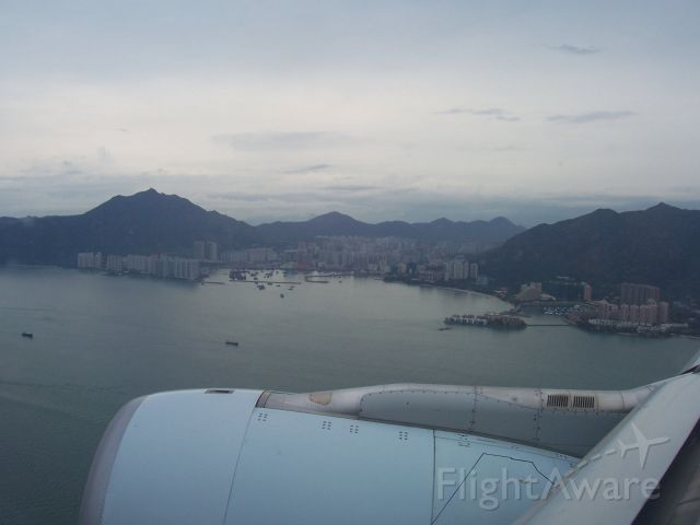 Airbus A330-300 — - Cathay Pacific Airbus A330 on approach to Hong Kong Intenational Airport