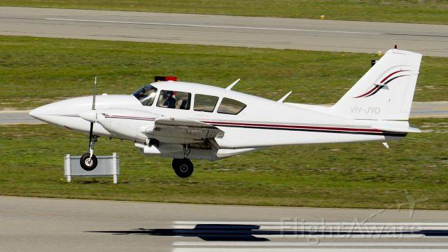 Piper Aztec (VH-JYO) - Piper PA-23-250 cn 27-7854062. VH-JYO YPJT 24th July 2020.