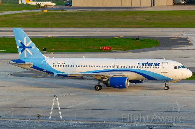Airbus A320 (XA-BIO) - Taxiing to gate A7. Back when interjet flew to SA before coronavirus hit. Really miss working on them. Taken 3/10/2020