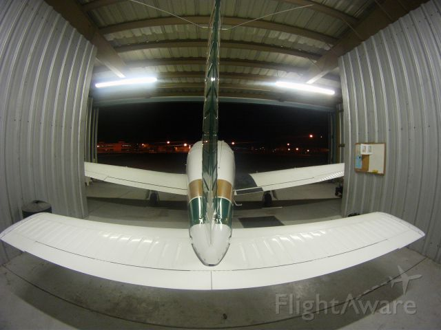 Piper Cherokee Arrow (N3588M) - Keeping warm in the hanger!
