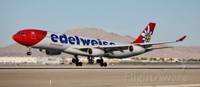 Airbus A340-300 (HB-JMF) - CLICK ON