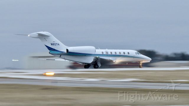 Cessna Citation X (N92TH) - Best viewed in full.