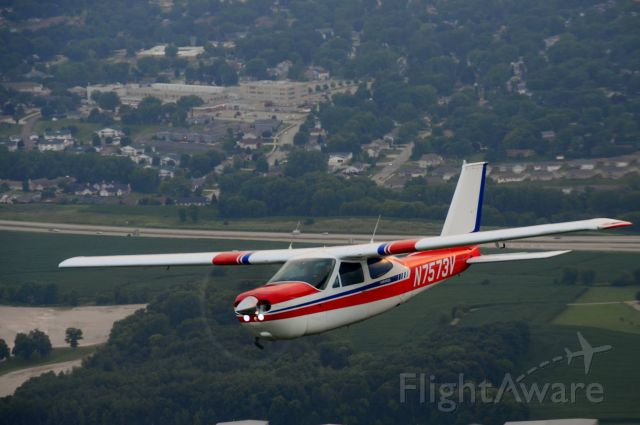 Cessna 177RG Cardinal RG (N7573V) - Over Beaver Dam WI, 7/25/2014