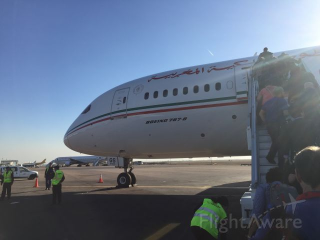 CN-RGS — - RAM does not use gateways except to walk to end and go down stairs to board buses that drive passengers to and from planes, even this 787 for ? reason. Nov 16