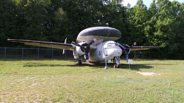 Grumman C-1 Trader (14-7217) - Possibly one of the last E-1Bs to leave USN service. Formally part of VAW-78