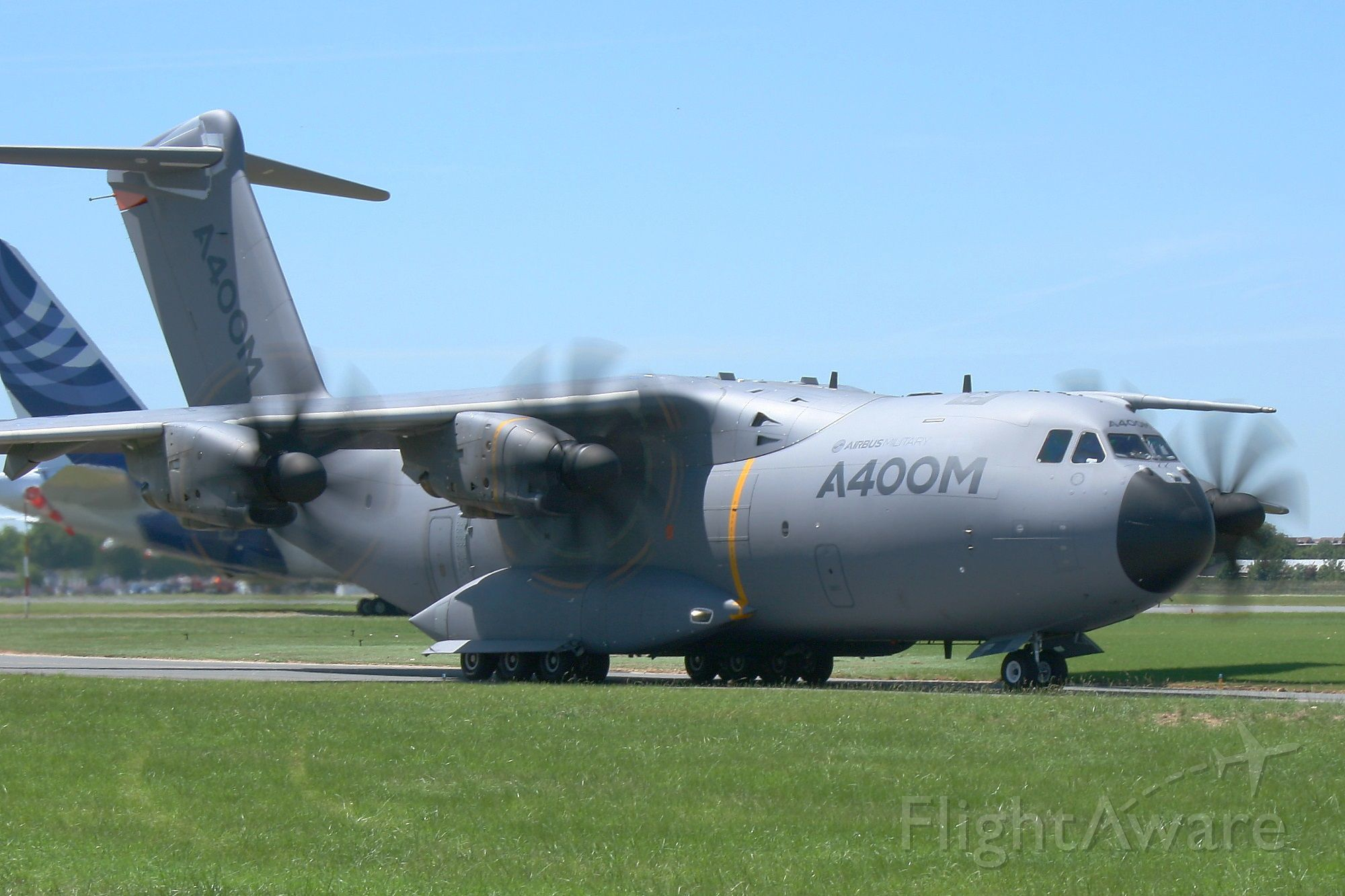AIRBUS A-400M Atlas (F-WWMS) - Airbus Military A-400M Atlas-Grizzly, Paris Le Bourget (LFPB-LBG)