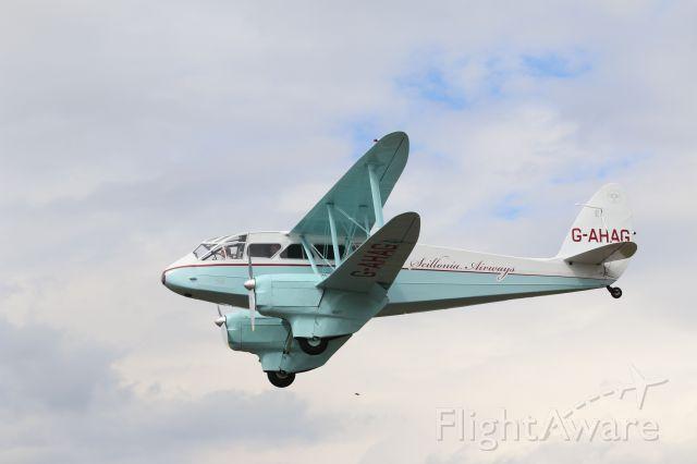 De Havilland Dragon Rapide (G-AHAG) - Blackbushe UK 2016