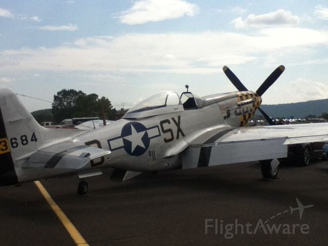 North American P-51 Mustang (46-3684) - Front Royal Air Show - 2012