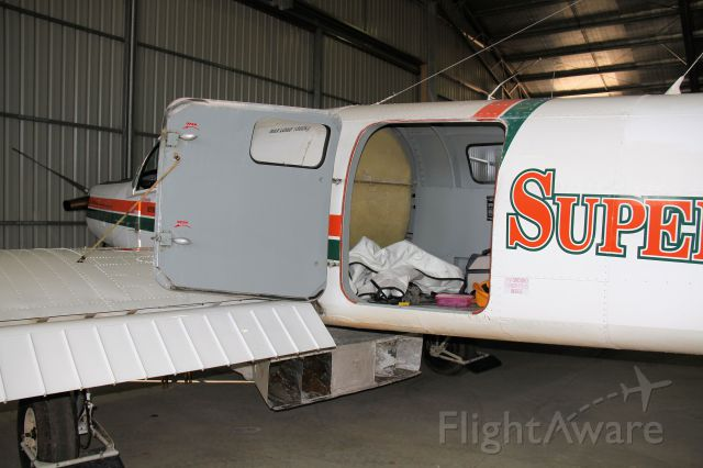 VH-UFI — - PAC Cresco 08-600 in agricultural configuration at Armidale NSW - detail of hopper set up