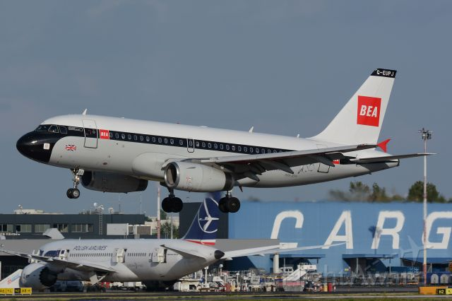 Airbus A319 (G-EUPJ) - Classic livery