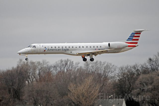 Embraer ERJ-145 (N678AE) - Arriving from Chicago O'hare 12/29/2019.