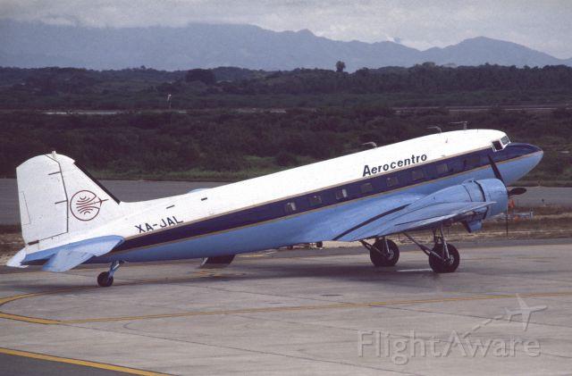 Douglas DC-3 (XA-JAL) - October 1979 at Zihuatanejo (MMZH)