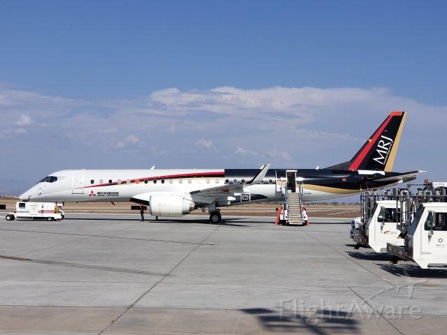 JA24MJ — - MRJ development airframe on a visit to Mesa-Gateway AZ.  Photographed August 2nd 2018.