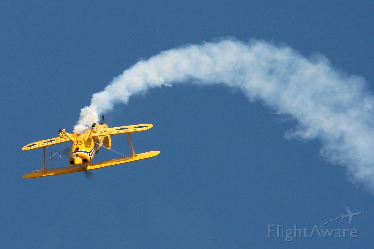 F-GKGZ — - Pitts S-2A Special, Solo display, Morlaix-Ploujean airport (LFRU-MXN) air show in september 2014