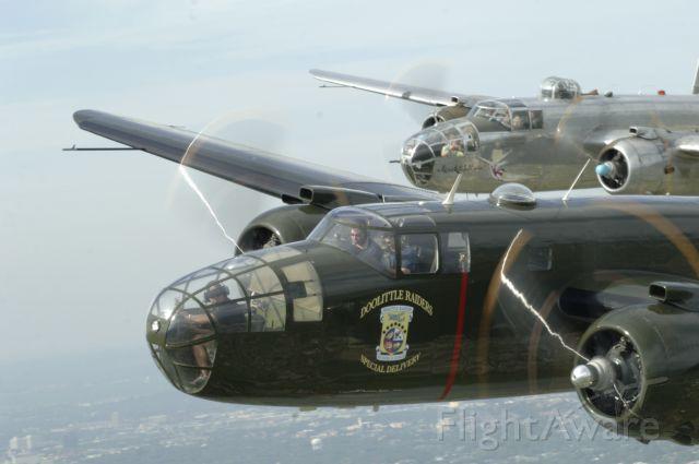 "North American TB-25 Mitchell — - Doolittle Raider B-25 Photo Shoot over San Antonio--Ken Murray, <a rel=""nofollow"" href=""http://www.Mach3photography.com"">www.Mach3photography.com</a>"
