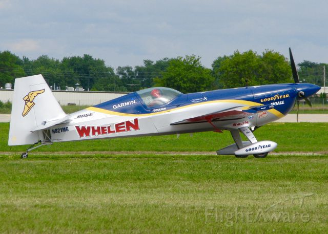 EXTRA EA-300 (N821MG) - AirVenture 2016. The great Mike Goulian! Can