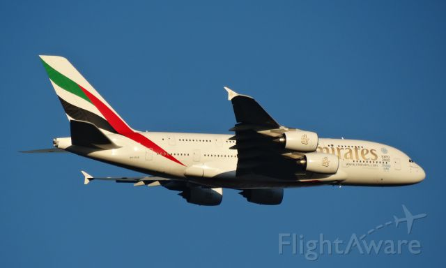 Airbus A380-800 (A6-EEK) - SAME A/C ON FINAL APPROACH TO YPPH APPROX 2000 FEET