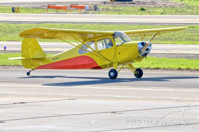 CHAMPION Tri-Traveler (N83303) - Aeronca 7AC Champion at Livermore Municipal Airport. March 2021