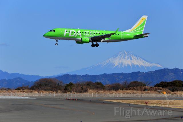 JA08FJ — - The Mt. Fuji & Fuji Dream Airlines light green.