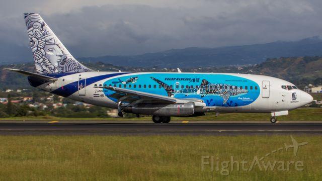 Boeing 737-200 (HR-MRZ) - NICE LIVERY