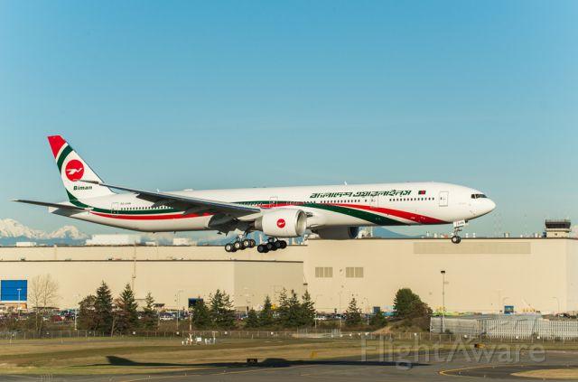 Boeing 777-200 (S2-AHN) - Bangladesh Biman Airlines