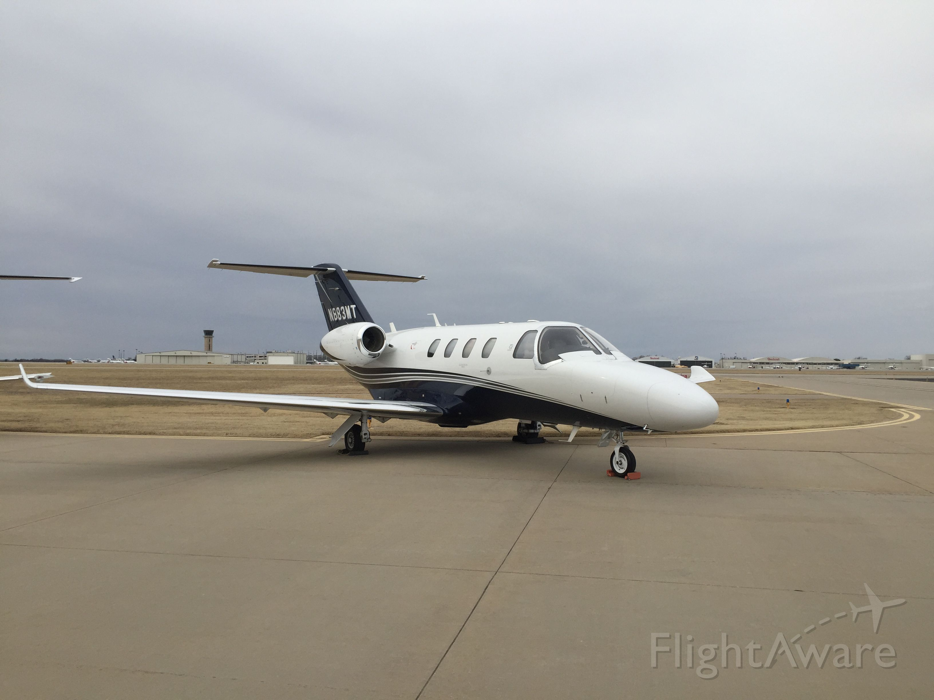 Cessna Citation M2 (N883MT) - At the Cessna Service Center