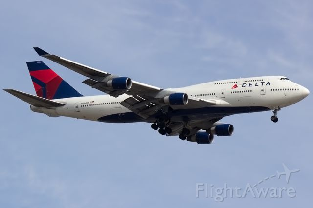 Boeing 747-400 (N662US) - B744 #3 of 4 for the day at DTW!  Arriving from EHAM to 21L.  <br /><br />04/12/2015