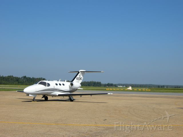 Cessna Citation Mustang (N510WC) - Parked at the Poplar Bluff airport