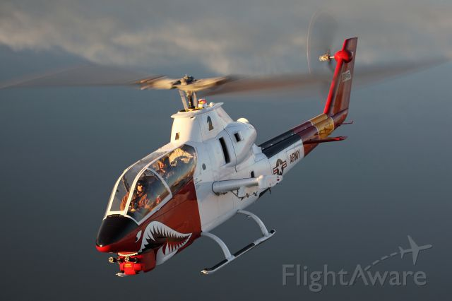 """— — - """"keeping Military Aviation History Alive""""  Fully restored AH-1 Attack Helicopter www,cactusairforce.com"""