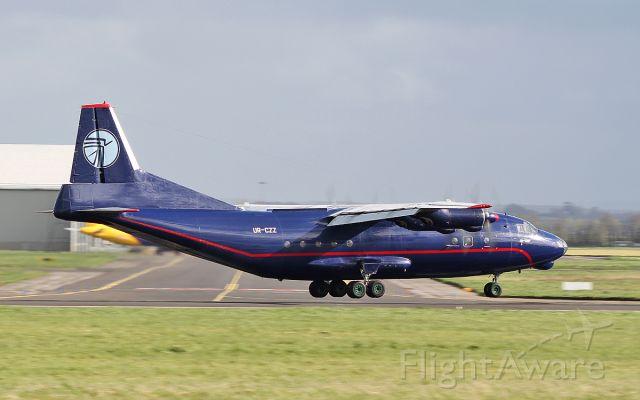 Antonov An-12 (UR-CZZ) - ukraine air alliance an-12bp ur-czz landing at shannon 25/4/18.