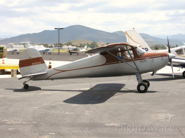 Cessna 120 (N1894N) - TAXIING AT FRENCH VALLEY