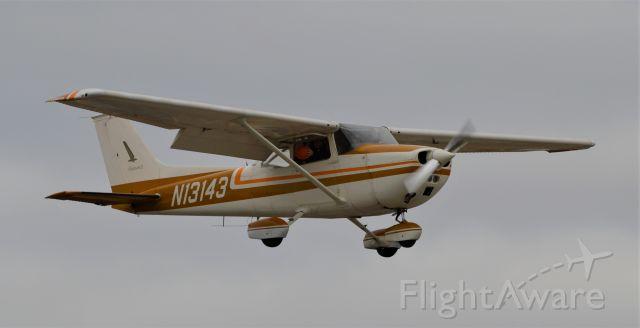 Cessna Skyhawk (N13143) - Participating in the 2020 Stearman Pumpkin Drop.