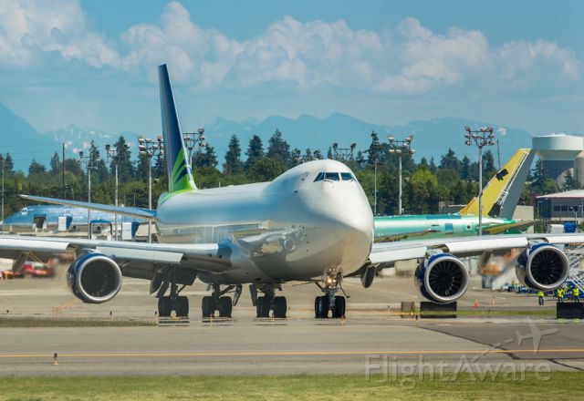 Boeing 747-200 (N770BA) - After removing the Seattle seahawks logos, this plane is ready to fly to Casablanca in Africa (FGSL/ SSG)