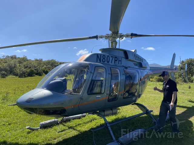 Bell 407 (N807PH)